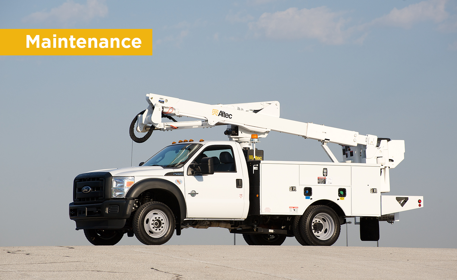 Altec AT40-G Introduction to Maintenance - Service Training