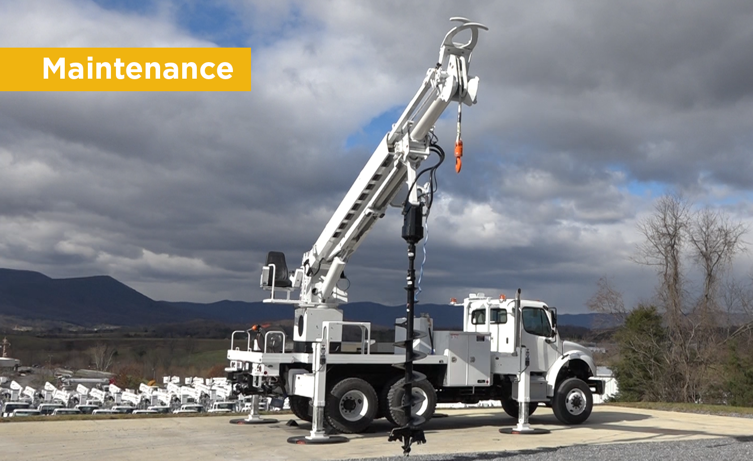 Altec D2000B/3000B/4000B Introduction to Maintenance - Service Training